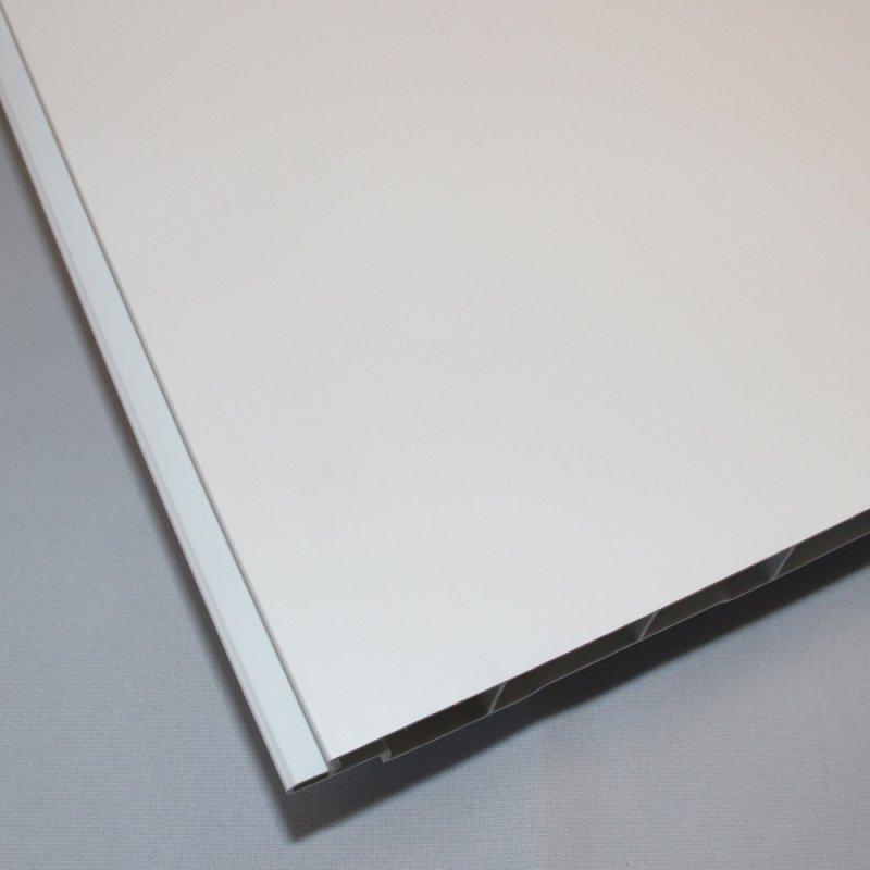 dekodeck verkleidungsprofil v0 weiss ohne fuge 200x17x1 0mm. Black Bedroom Furniture Sets. Home Design Ideas